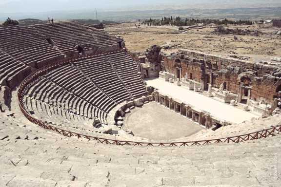 остатки амфитеатра