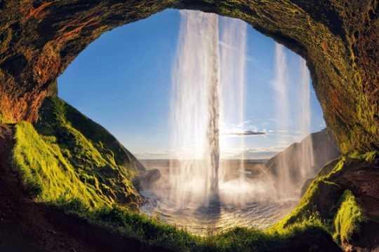 Сельяландфосс водопады Исландии