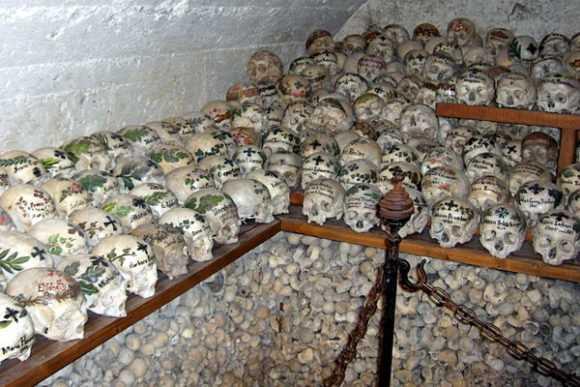 Останки умерших
