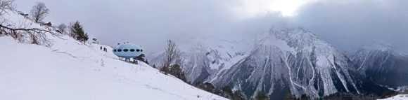 Уникальная гостиница в горах