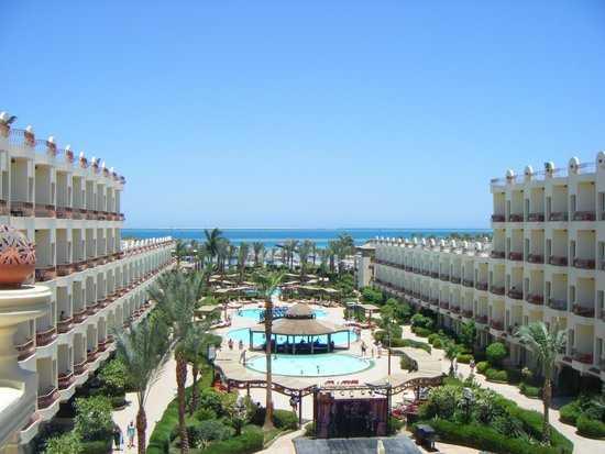 отель Мираж в Египте