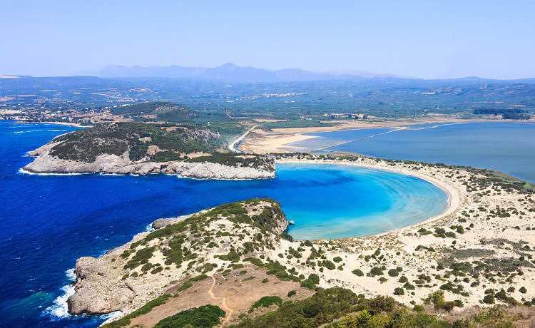 курорт Пелопоннес Греция