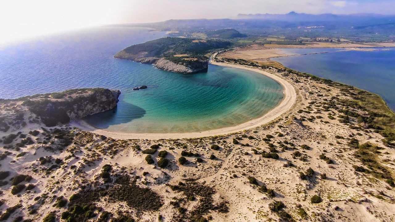 остров Пелопоннес Греция
