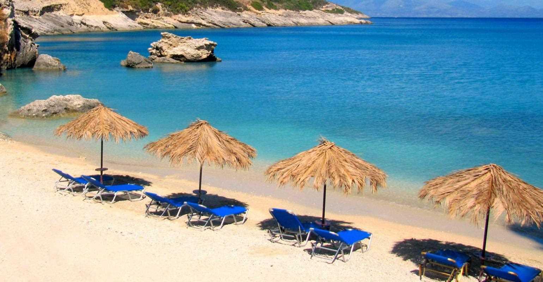 Красивые пляжи на побережье
