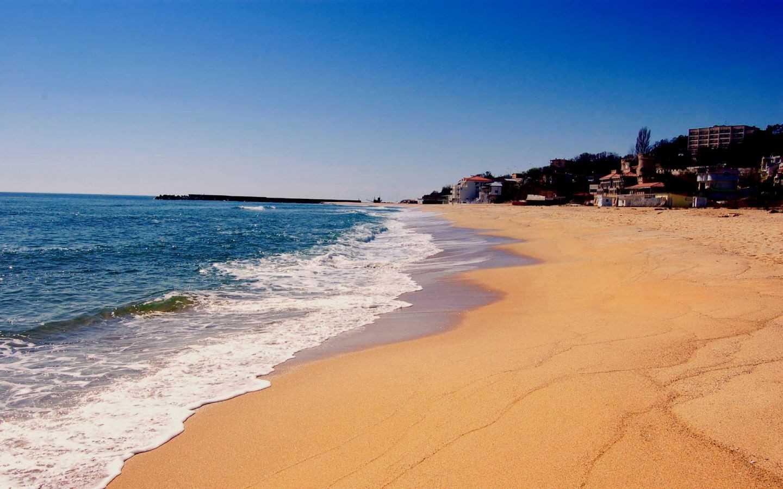 Пляж золотые пески фото