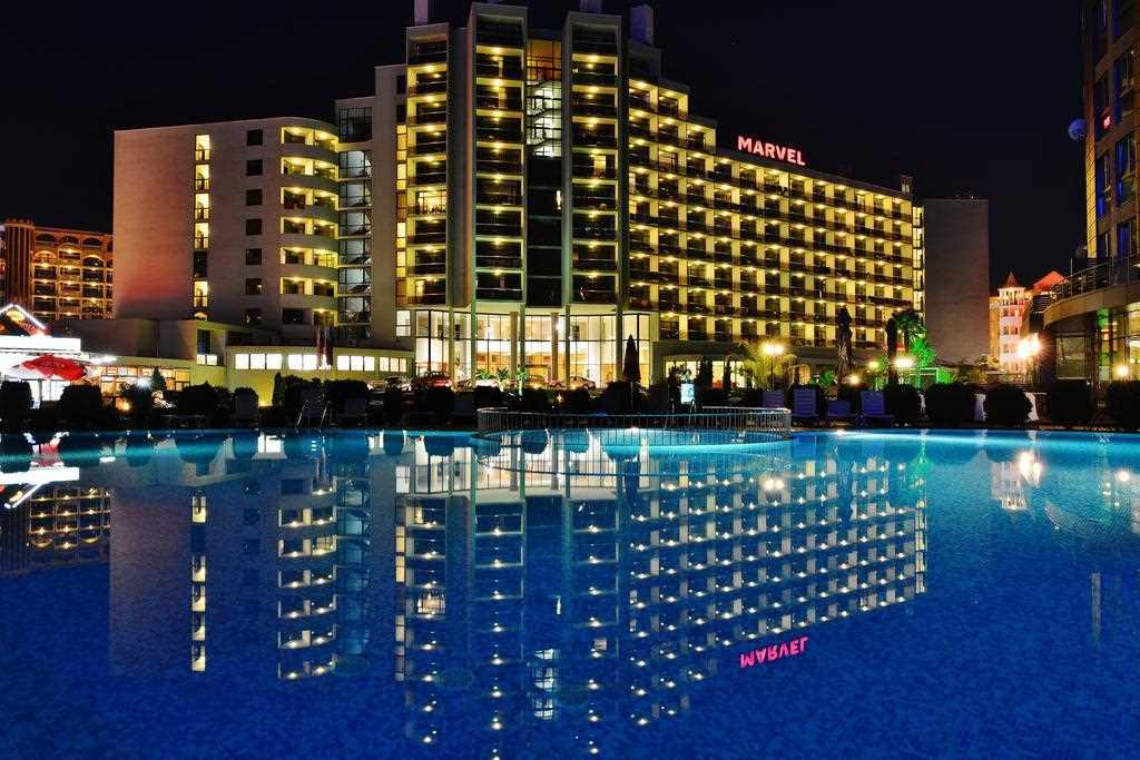 Таинственный отель Марвел Солнечный берег
