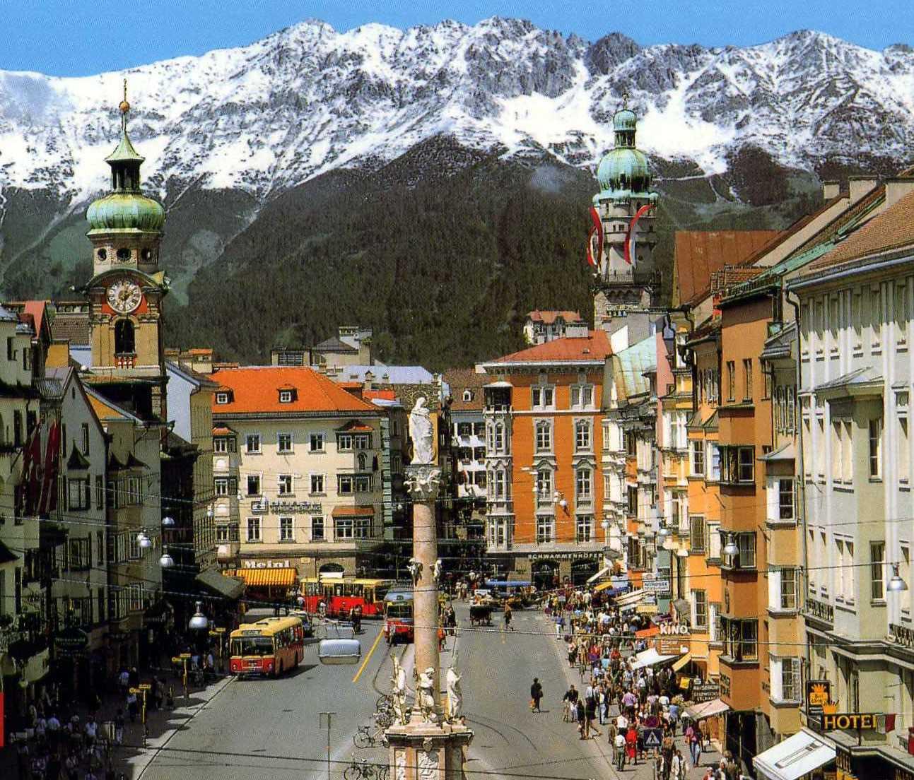 Куда поехать в Австрии летом