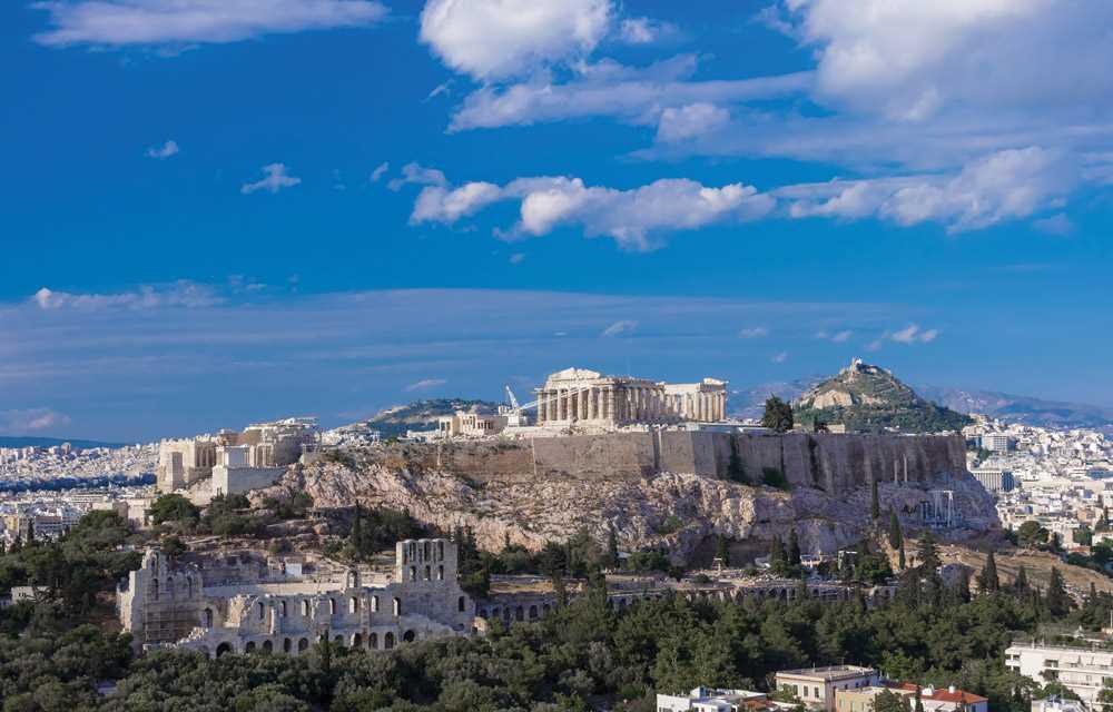 знаменитый Акрополь
